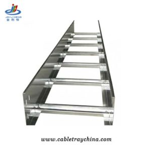 Galvanised ladder cable tray