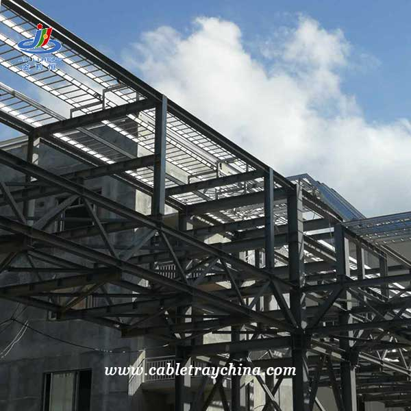 Galvanized Cable Tray for Integrated Forest Pulp and Paper Project In Laos
