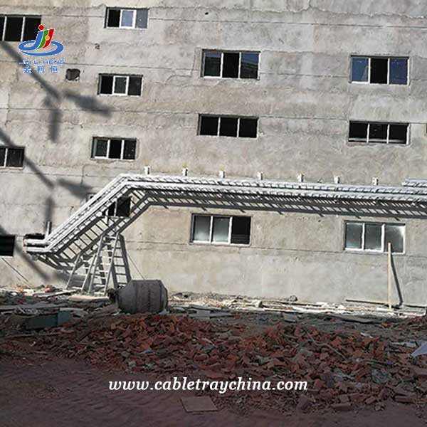 HDG Cable Tray for Integrated Forest Pulp and Paper Project In Laos