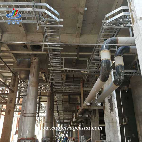 Hot Dip Galvanized Cable Tray for Integrated Forest Pulp and Paper Project In Laos