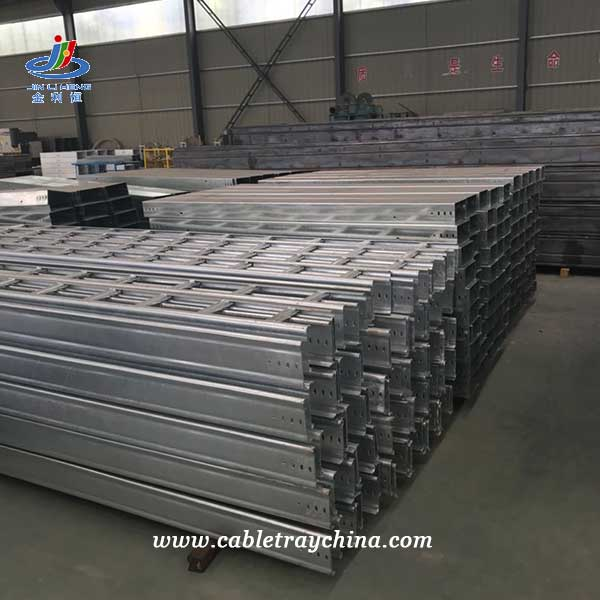 Hot Dip Galvanized Ladder Cable Tray for Integrated Forest Pulp and Paper Project In Laos
