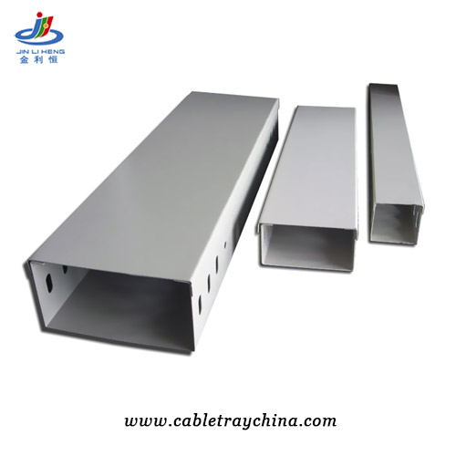 galvanised electrical trunking