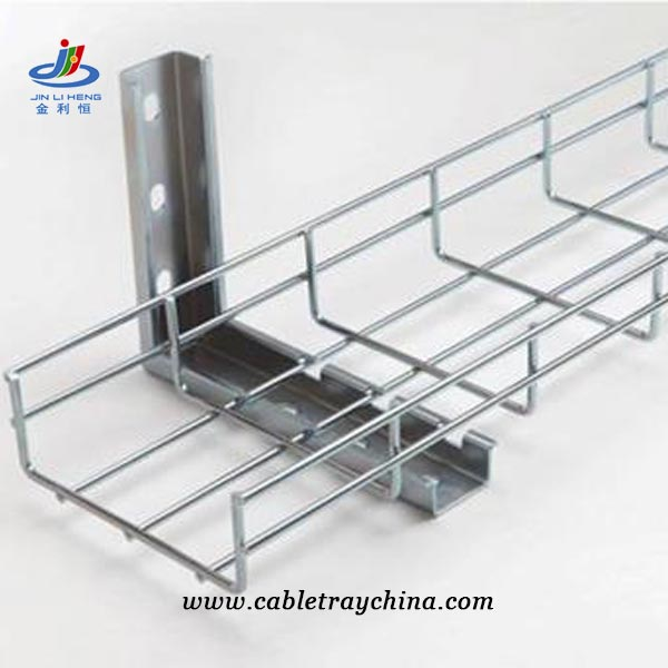 stainless steel wire basket cable tray