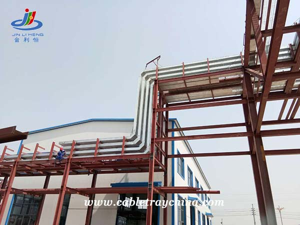 Galvanised Steel Cable Trunking for Chemical Plant Construction in Shandong Province
