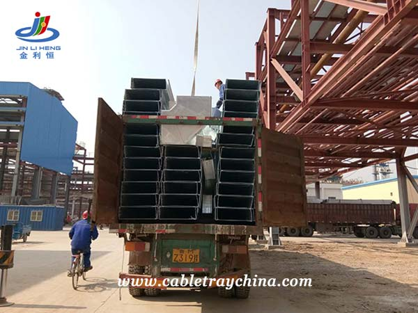 Galvanized steel Cable Trunking for Chemical Plant Construction in Shandong Province