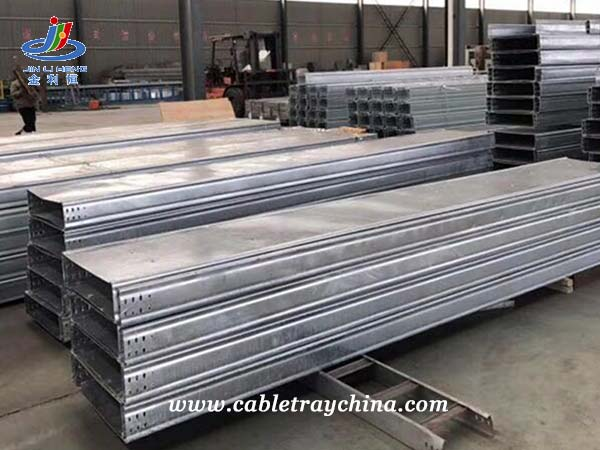 Hot Dip Galvanised Steel Cable Trunking for Chemical Plant Construction in Shandong Province