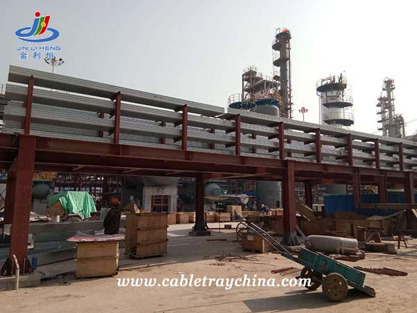 Hot Dip Galvanized Cable Trunking for Chemical Plant Construction in Shandong Province