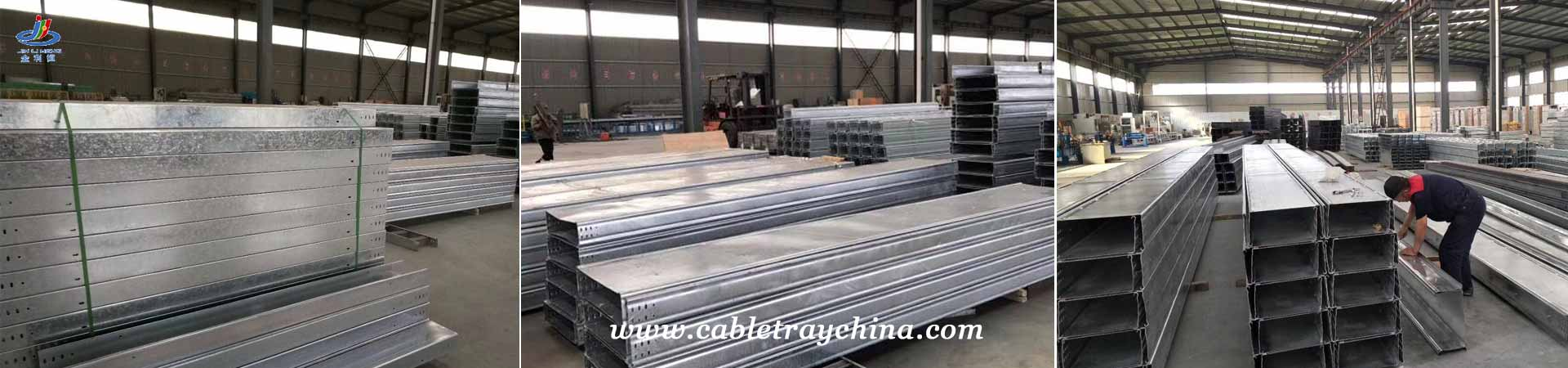 Powder Coated Galvanised Cable Trunking Factory