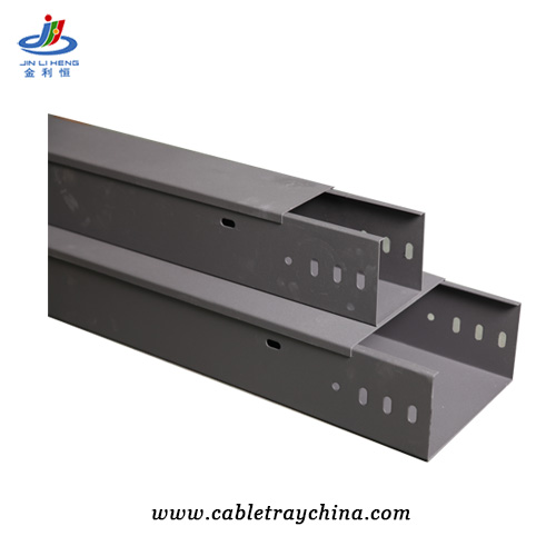Powder Coated Galvanised Cable Trunking
