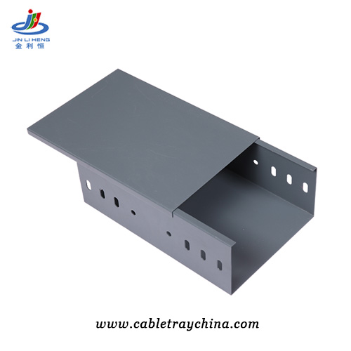 Powder Coated galvanised electrical trunking