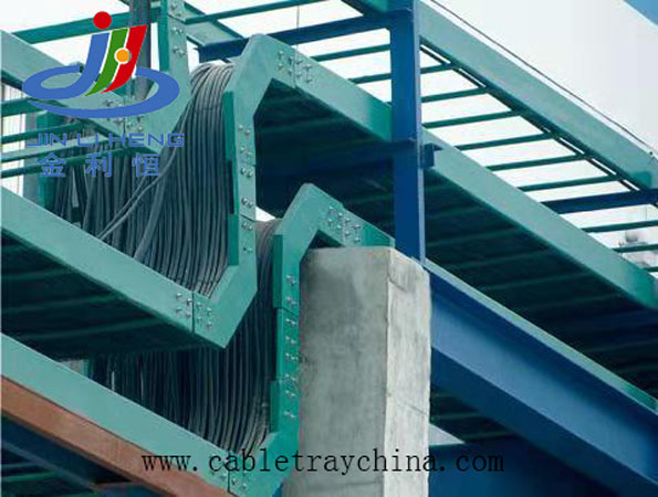 FRP Cable Tray For New Factory Construction In South Korea