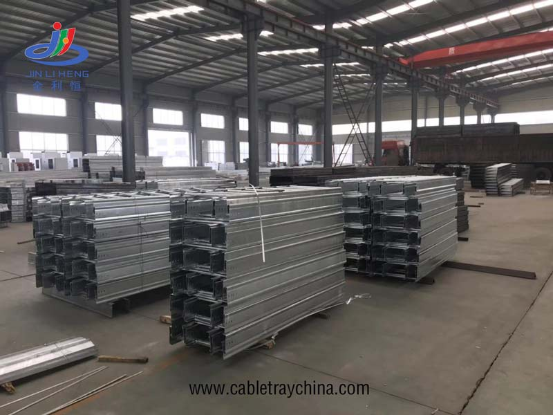 Ladder Cable Tray For Saudi Arabia Airport Engineering installation
