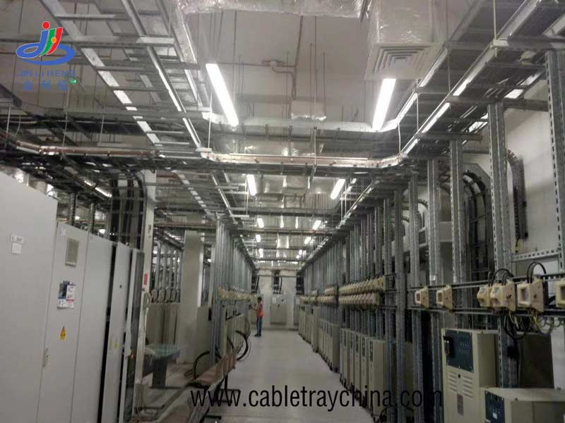 Ladder Cable Tray For Saudi Arabia Airport Engineering intallation