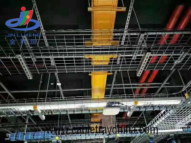 Wire cable tray for paper making company