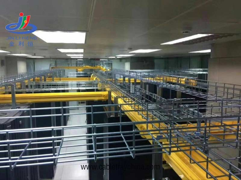 Wire mesh cable tray for paper making in Jining