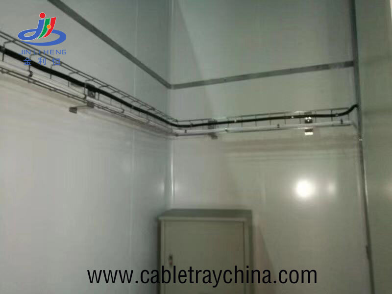 Wire mesh cable tray for Jining city