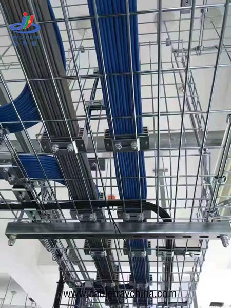 Wire cable Tray for Pharmaceutical industry workshop construction in Inner Mongolia
