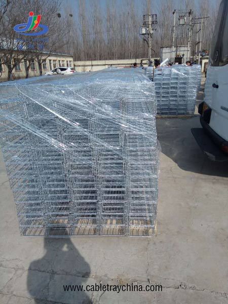 Metal Wire Tray for Pharmaceutical industry workshop construction in Inner Mongolia